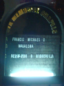 March 6, 2009 - Francis Magalona's Wake at the Christ The King Church.