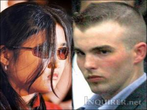 Suzette S. Nicolas, erstwhile known publicly only as 'Nicole,' has submitted a shocking affidavit to the court. At right is Daniel Smith in a photo taken three years ago. PDI PHOTO FILE
