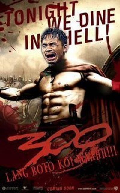 Manny Pacquiao As Leonidas From 300