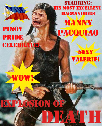 Manny Pacquiao In Rambo