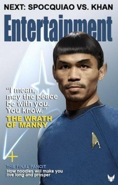 Manny Pacquiao In Star Trek