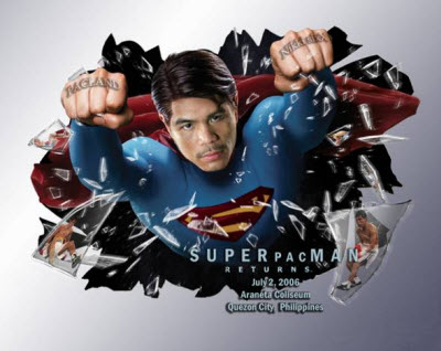 Manny Pacquiao As Superman