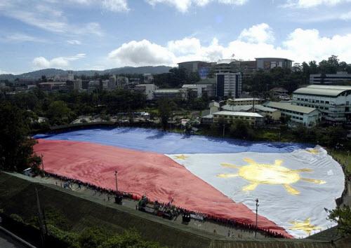 Giant Philippine Flag