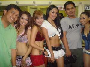 After-Gig Photos with Mocha Girls