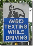 Avoid Texting While Driving