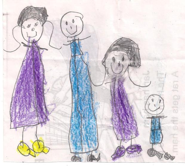 Family Portrait by Zoe