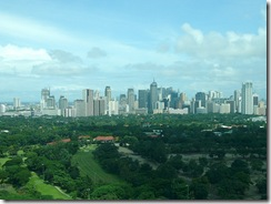 Makati City from Residence