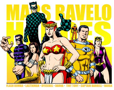 Mars Ravelo Superheroes