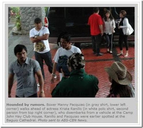 Pacman-Krista in Baguio 1