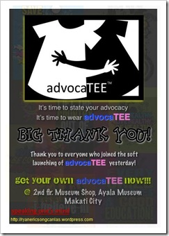 AdvocaTEE Invite