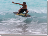 Skim Boarding at Dahican Beach