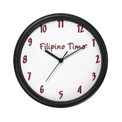 Filipino Time - Always Late?