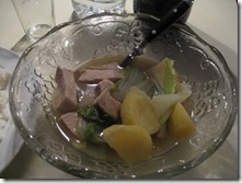 Boiled Pork with Vegetables