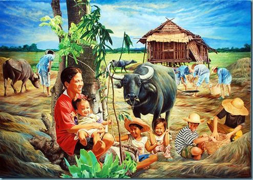 BUKID PAINTING by Dante Hipolito