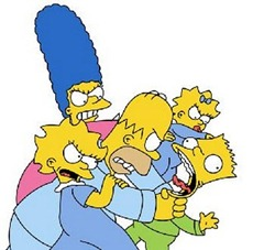 Simpsons Fight