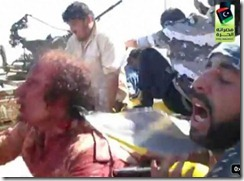 Gaddafi's Final Moments - 3