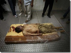 Muammar Gaddafi - Killed